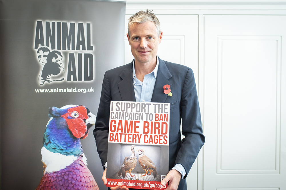 Environment Minister Zac Goldsmith